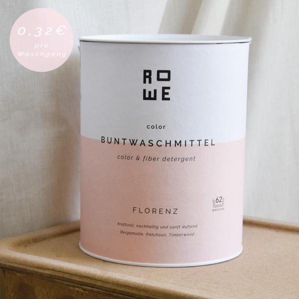 ROWE color Buntwaschmittel Florenz 2,4 kg für 62 Waschladungen