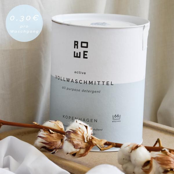 ROWE active Vollwaschmittel Kopenhagen 2,4 kg für 66 Waschladungen